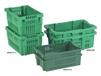 VENTILATED STACK-N-NEST CONTAINERS FOR PARTS HANDLING