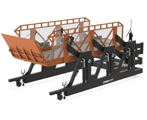 CANTILEVER SURFACE MOUNT DOCK LIFTS - P-LINE