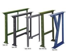 STATIONARY WORK BENCH LEGS