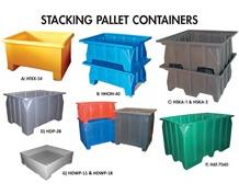 STACKING PALLET CONTAINERS