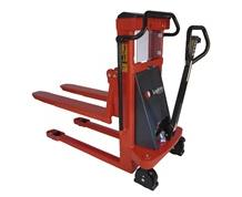MINI MANUAL LIFT/MANUAL PUSH FORK OVER STACKER